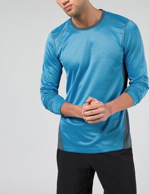 ACTIVE LONG-SLEEVED AC HEXA KNIT T-SHIRT