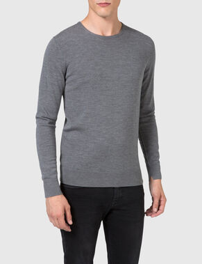 DARREL PATCH KNITTED PULLOVER
