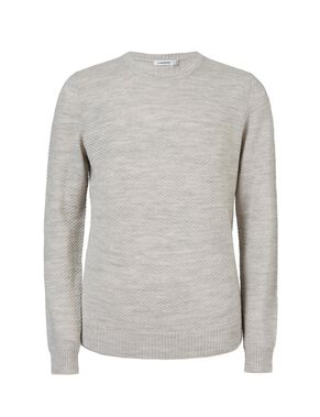 LENNOX GEO STRUCTURE KNITTED PULLOVER