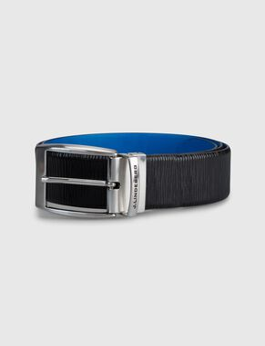 ASHER 40 STRUCTURED LEATHER BELT