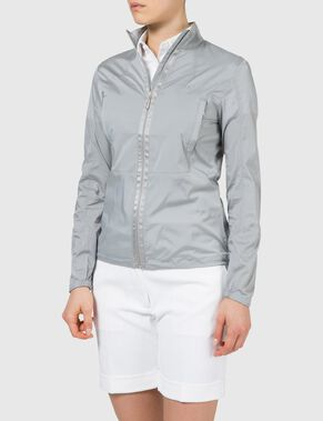 AMELIA STRETCH CHAMBRAY JACKET