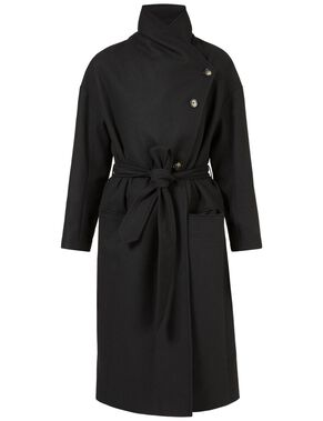 AGNES 67 SOFT MELTON COAT