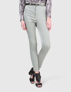 KATHY HIGH FEATHER STRETCH TROUSERS