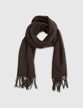 SOLIDO SCOTS WOOL SCARF