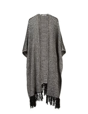 MEORA PERFORATE KNIT KNITTED CARDIGAN