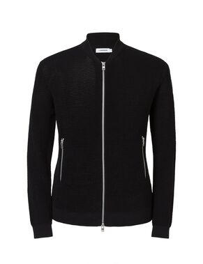 DANIEL SHINY RELIEF KNITTED CARDIGAN