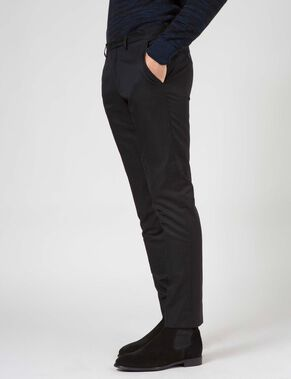 PAULIE LUREX WOOL SUIT TROUSERS