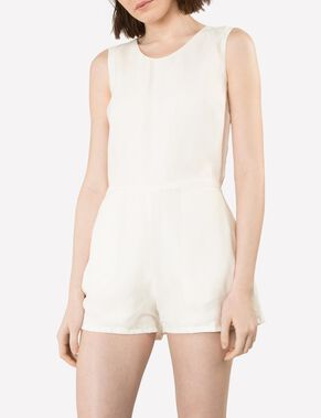 GOLDIE SMOOTH CUPRO PLAYSUIT