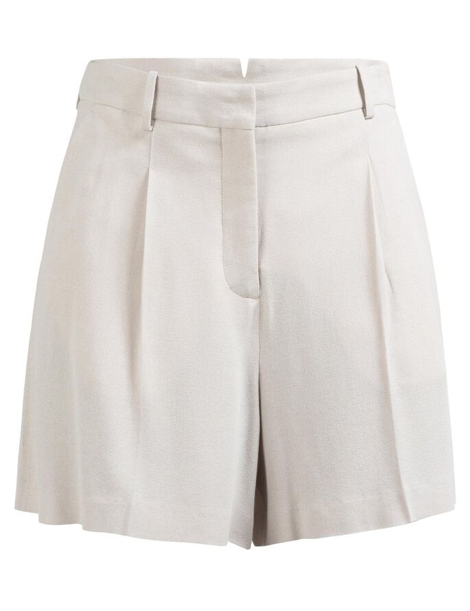 WILLOW TECH CREPE SHORTS, Lt Grey/Beige, large