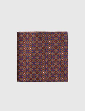 28 SQUARE WOOL TWILL POCKET SQUARE