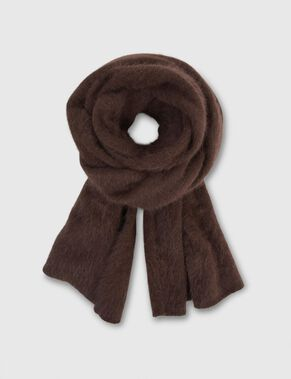 ANNET HAIRY ANGORA SCARF