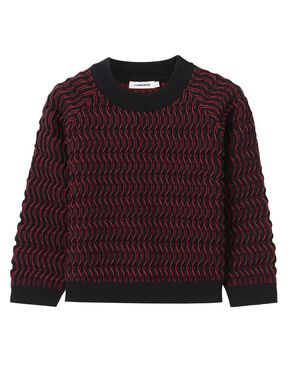 MARNE TECH CROCHET SWEATER