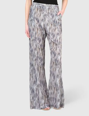 NADJA FEATHER PRINT TROUSERS