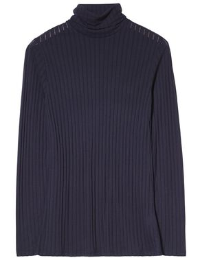 ANN POLO VISCOSE RIB TURTLENECK