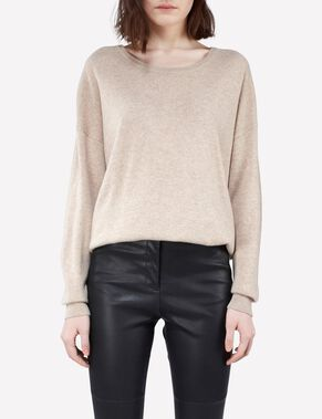 MANDA LIGHT CASHMERE KNITTED PULLOVER