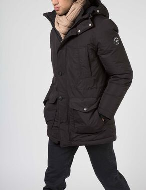 RADIATOR PARKA DRESSED POLY JACKET