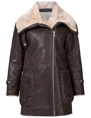 ALICIA TRIBAL SHEARLING JACKET