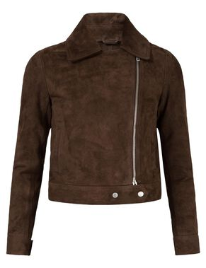 POLLY VELVETY SUEDE JACKET