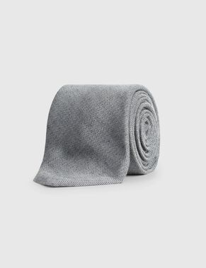 LALLE STRUCTURED WOOL TIE