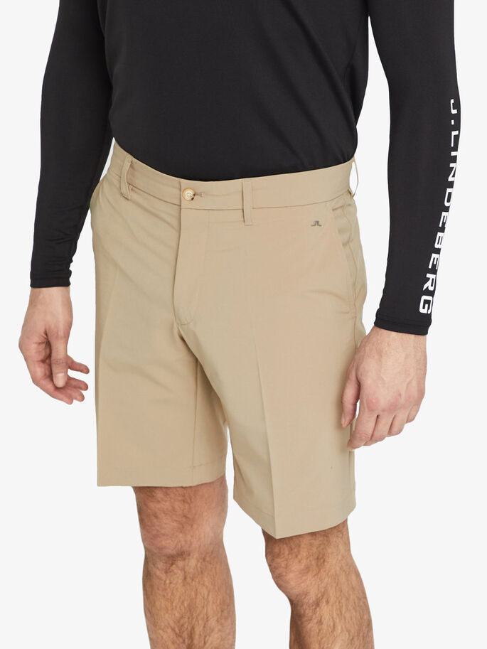 ELOY MICRO-STRETCH SHORTS, Beige, large