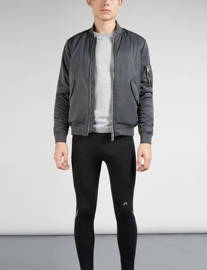RAFE 72 BOMBER SATIN JACKET