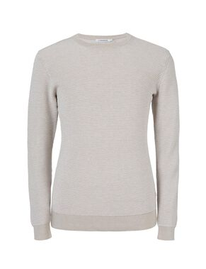 ROMAN SHINY RELIEF KNITTED PULLOVER