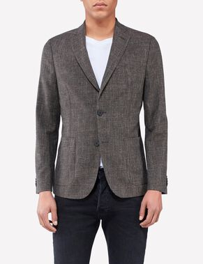 HOPPER FLAME STRUCTURE BLAZER