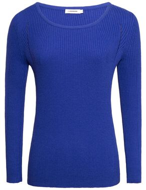 MENA SILKY KNIT KNITTED PULLOVER