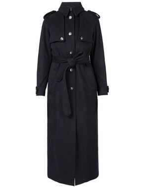 AUDREY BRUSHED WOOL COAT