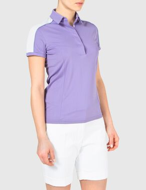 ALVA SLIM  TX JERSEY POLO SHIRT