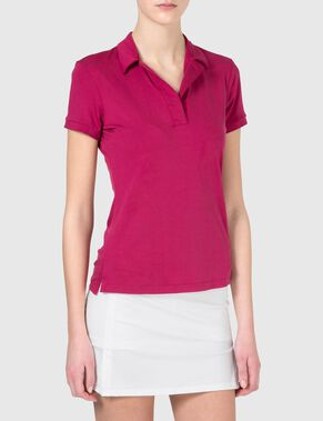 HANNA SLIM SOFT TENCEL POLO SHIRT