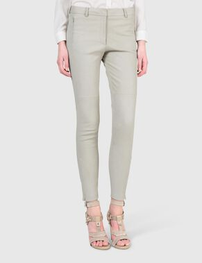 KATHY WET SUEDE TROUSERS