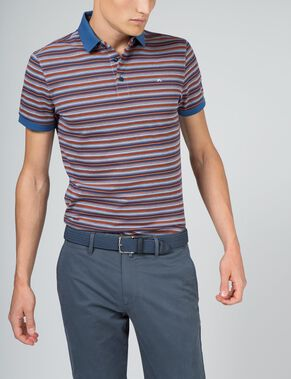 DEV SLIM LUX PIQUE POLO SHIRT