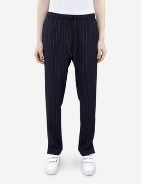 SPRING FAB PINSTRIPE TROUSERS