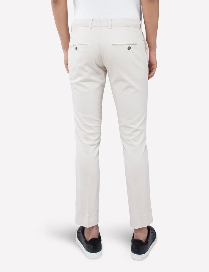 GRANT DIAMOND STRUCTURE TROUSERS, Pale Powder, large