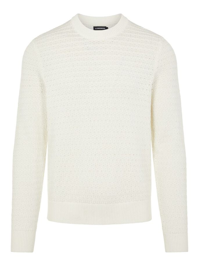 SOMA STRUCTURE SWEATER, Cloud White, large