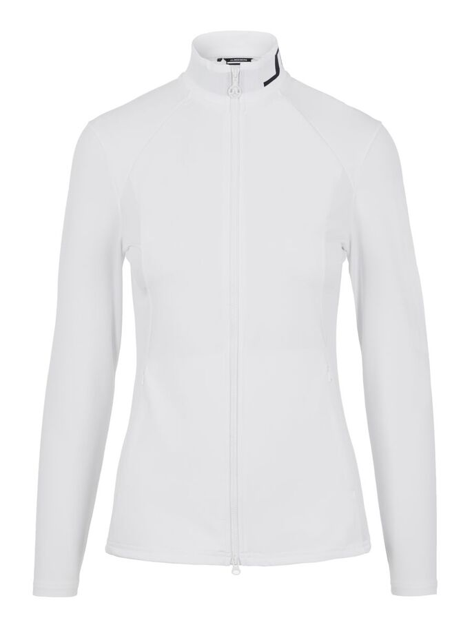 THERESE MID LAYER JACKE, White, large