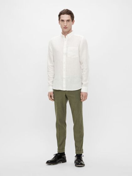 GRANT LINEN STRETCH TROUSERS