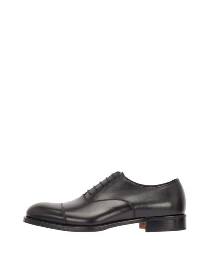 HOPPER CAP TOE OXFORD SHOES