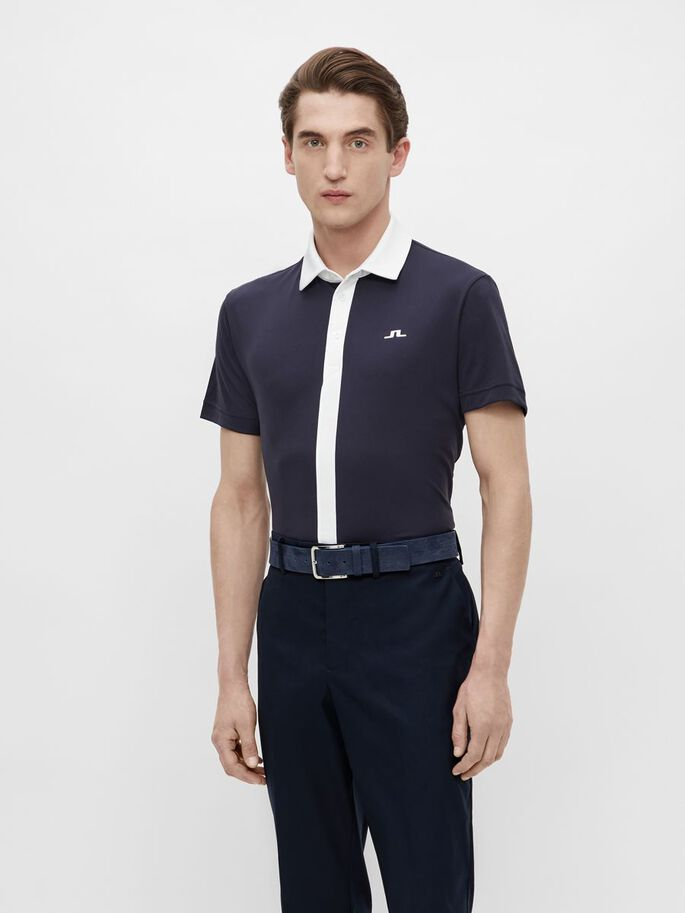 ADE REGULAR FIT POLOSHIRT, JL Navy, large