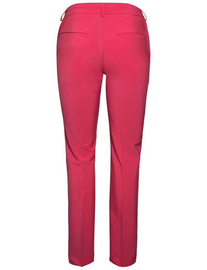 FREJA MICRO STRETCH TROUSERS, Pink Intense, large