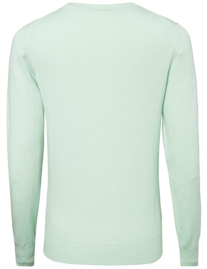AMAYA TRUE MERINO- STRICKPULLOVER, Mint, large