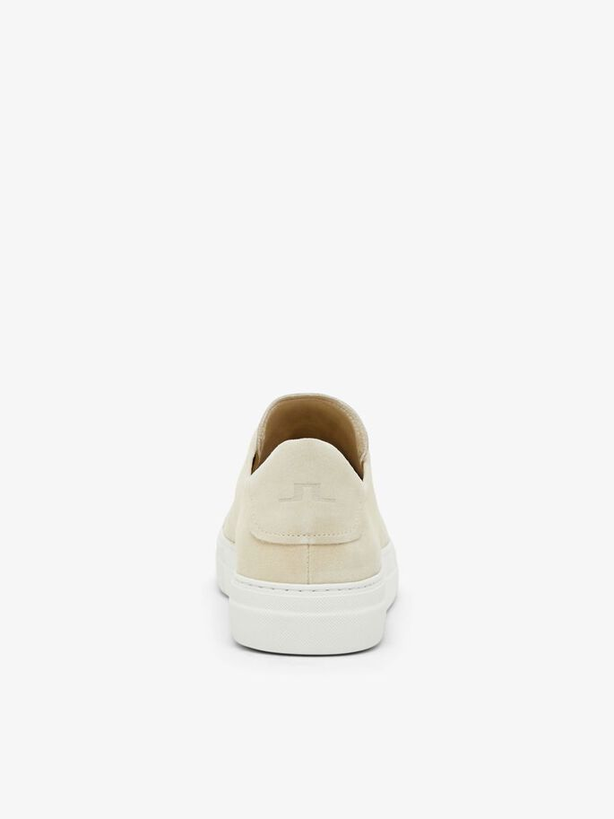 SIGNATURE SUEDE SNEAKERS, Sand Grey, large