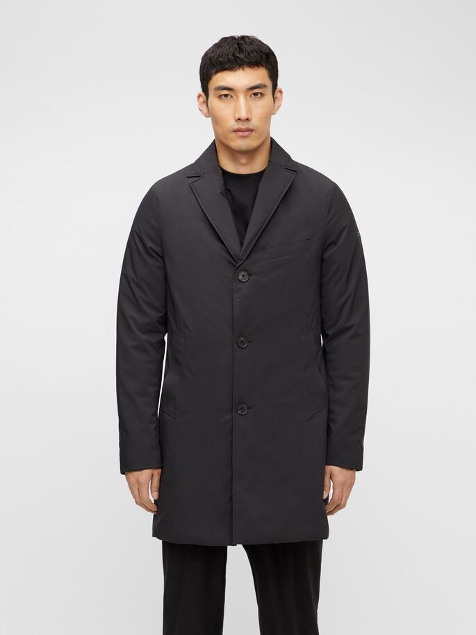 WOLGER TECH COAT, Black, large
