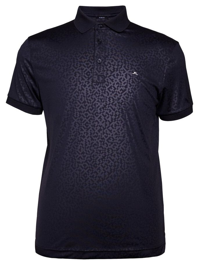 DAVID SLIM TX JERSEY + POLO SHIRT, JL Navy, large