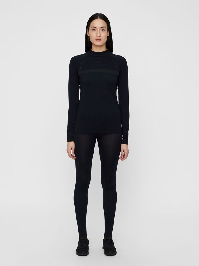 BODY MAPPING SPORTS TOP, Black, large