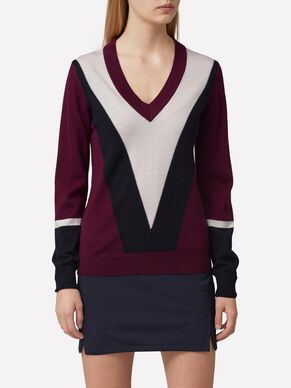 MONA TRUE MERINO KNITTED PULLOVER