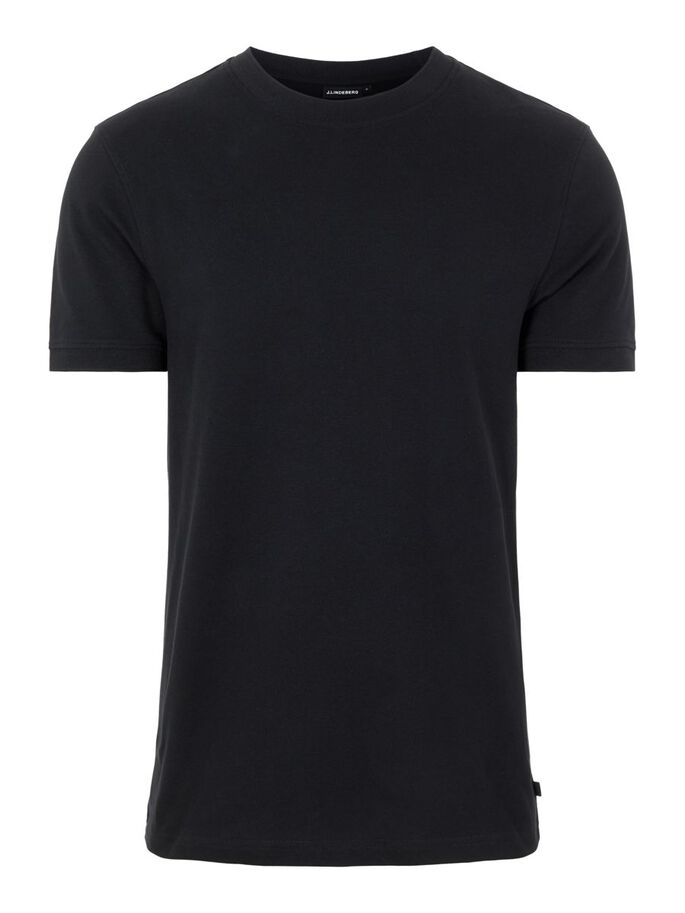 TOBY PIKEE T-SHIRT, Black, large