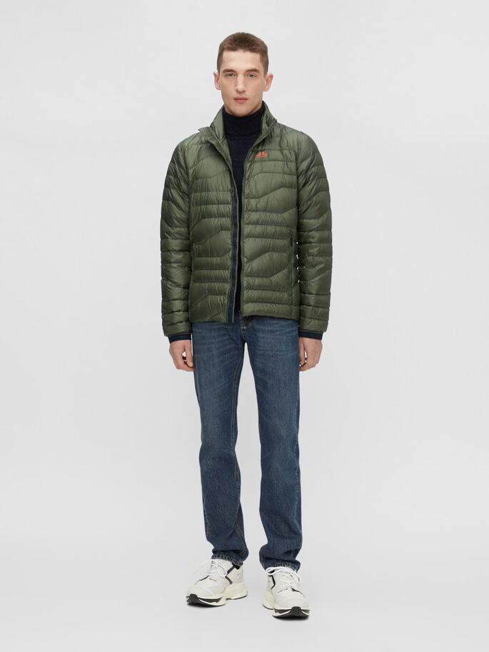 ERIK LIGHT DOWN JACKET, Thyme Green, large