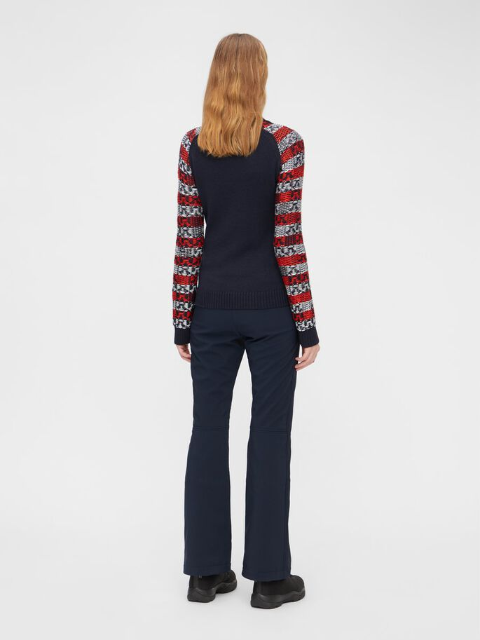 IVY KNITTED PULLOVER, JL Navy, large